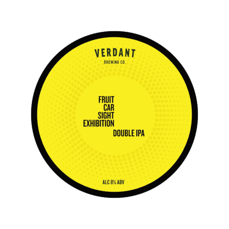 Verdant, Fruit Car Sight Exhibition, DIPA, 8.0%, 440ml