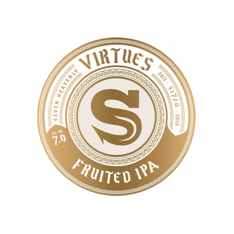 Siren Craft Brew, Seventh - Virtues, Fruited IPA, 7.0%, 440ml - The Epicurean