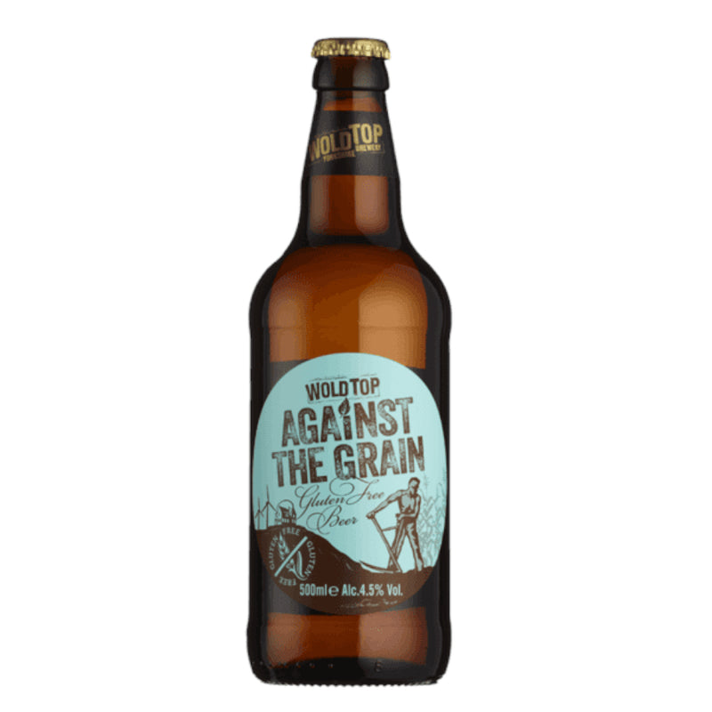 Wold Top, Against The Grain, Gluten Free Pale, 4.5%, 500ml - The Epicurean