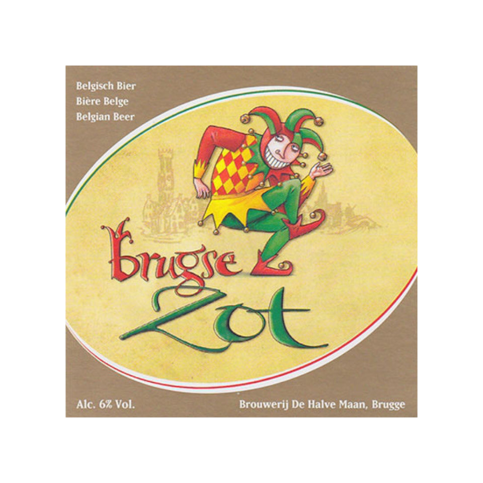 De Halve Maan, Bruges Zot Dubbel, Dubbel Ale, 7.5%, 330ml - The Epicurean