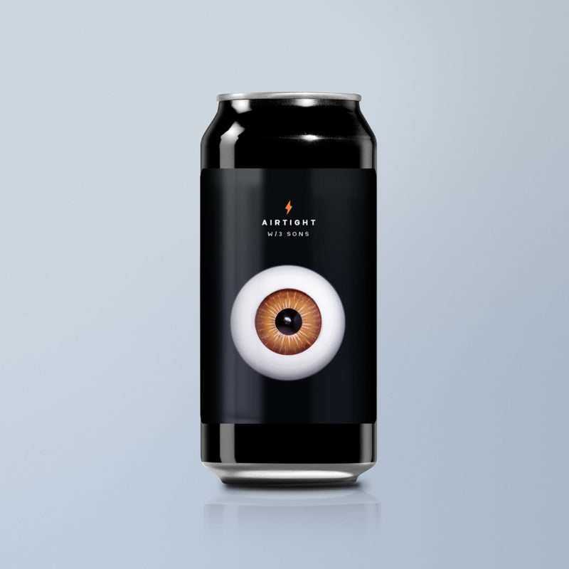 Garage Beer Co, Airtight, Imperial Stout, 11%, 440ml - The Epicurean