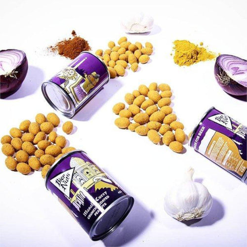 Bier Nuts, Crunchy Coated Nuts, Masala Curry Flavour, 45g - The Epicurean
