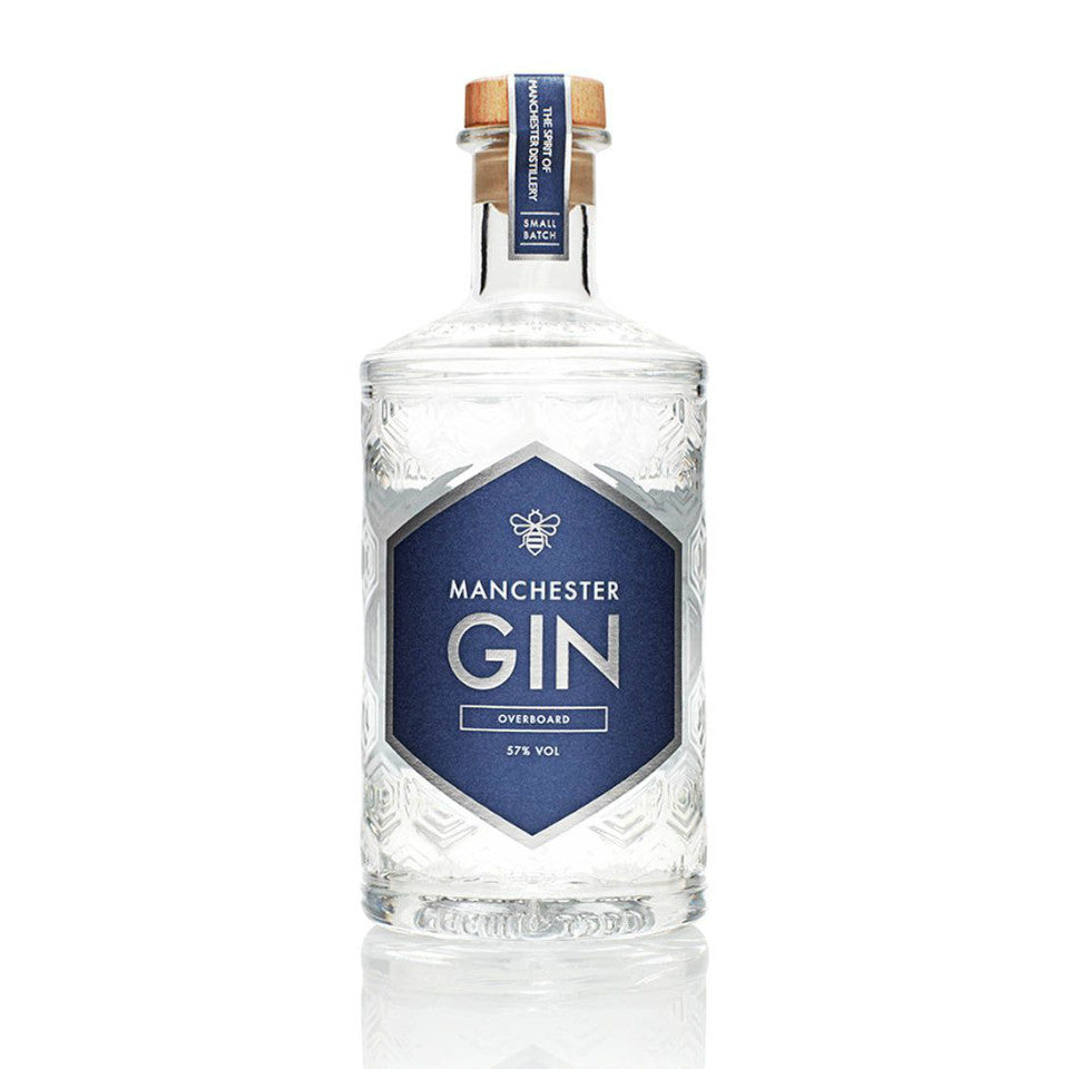 Manchester Gin, Overboard, 57%, 500ml - The Epicurean
