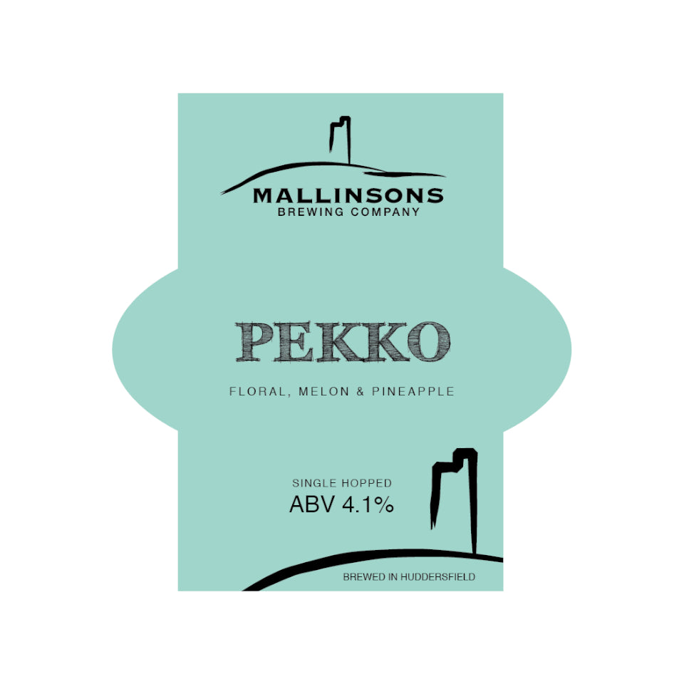 Mallinsons, PEKKO, Single Hopped Floral Pale Ale, 4.2%, 500ml - The Epicurean