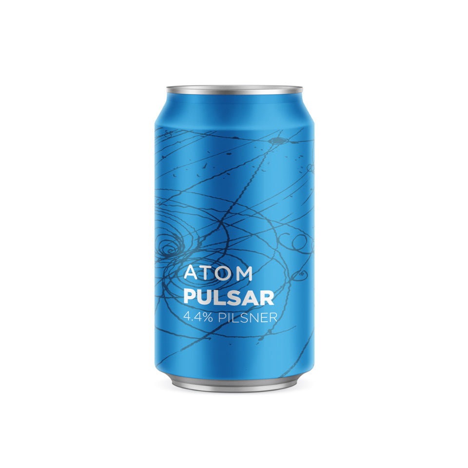 ATOM, Pulsar, German Pilsner, 4.4%, 330ml