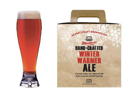 Muntons Hand Crafted Winter Warmer Ale (3.6 Kg) Beer Kit