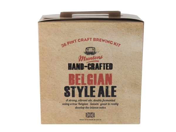 Muntons Hand Crafted Belgian Style Ale (3.5 Kg) Beer Kit