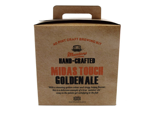 Muntons Hand Crafted Midas Touch Golden Ale (3.6 Kg) Beer Kit