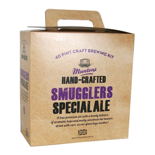 Muntons Hand Crafted Smugglers Special Ale (3.6 Kg) Beer Kit