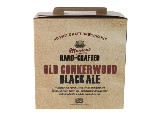 Muntons Hand Crafted Old Conkerwood Black Ale (3.6 Kg) Beer Kit