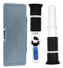 Precision Portable Refractometer For Wine Beer & Cider- Dual Scale ABV & Brix