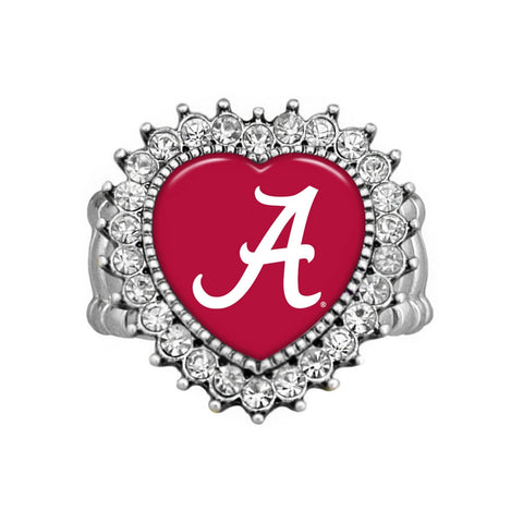 Alabama Heart Ring