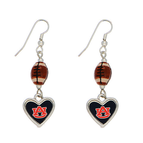 Auburn Football Earrings
