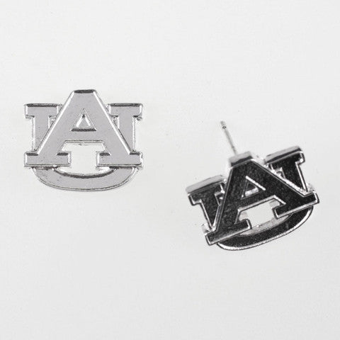 Auburn Logo Stud Earrings