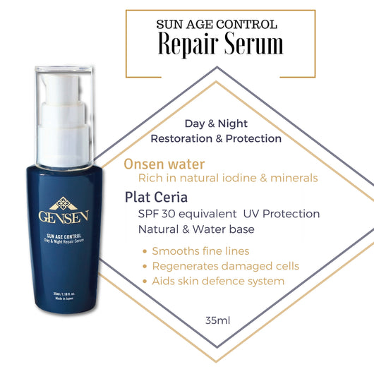 Day & Night Repair Serum  (35ml) - GENSEN JAPAN