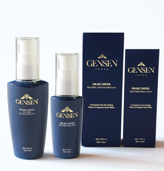 SUN AGE CONTROL Beauty Set - GENSEN JAPAN