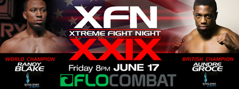 Randy Blake vs Dre Groce Xtreme Fight Night USA vs GB