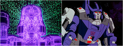 Transformers The Animated Movie Megatron into Galvatron