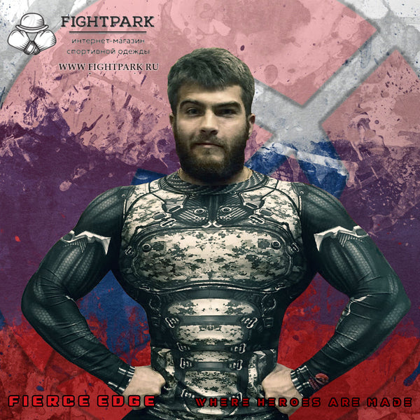 Fierce Edge Fight Park Russia Moscow MMA Muay Thai BJJ Retail Moscow Cyborg Brown Bear Armour