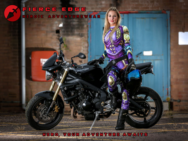 Fierce Edge Moto The Pixel Paladin 8bit Arnour Base Layer