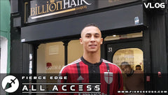 Fierce Edge All Access VLOG 03 Ben Whittaker The Barbers