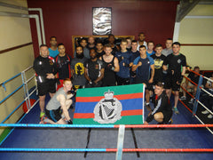 Fierce Edge Firewalker Olympic Boxing Club The Royal Irish Battalion Boxers Fox Cup