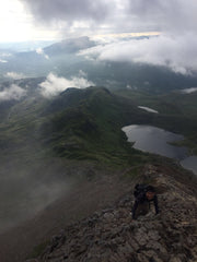 Fierce Edge Firewalker Fitness and Martial Arts Crib Goch Climb Snowdon Hike