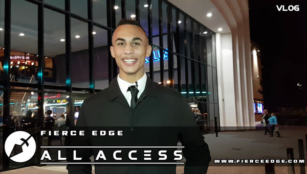 Fierce Edge All Access VLOG 02 Ben Whittaker The Awards