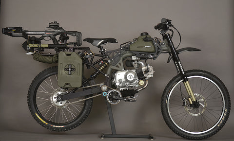 Post Apocalypse Survival Moto Bike