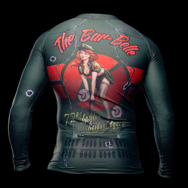 The Bar-Belle Rashguard - Fierce Edge