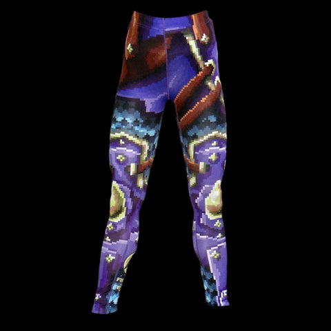 The Pixel Paladin Leggings