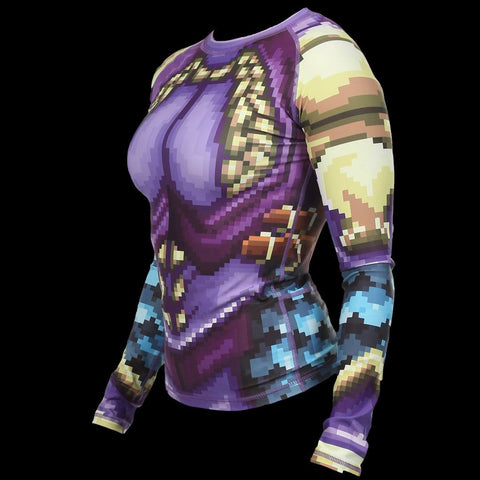The Pixel Paladin Rashguard