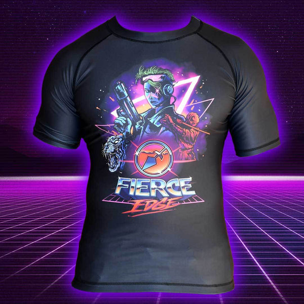 Team Awesome Rashguard - Fierce Edge