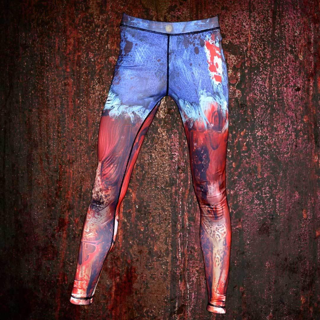 Zombie Leggings Daisy Duke Shorts