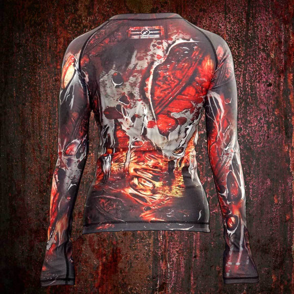 Horror Rash Guard Shirt