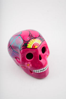 One of a kind Hand Made Mexican Calavera