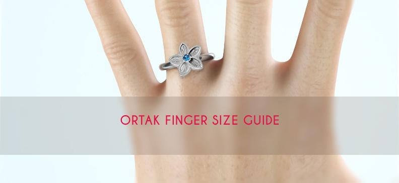 Ortak Ring Finger Sizer Guide