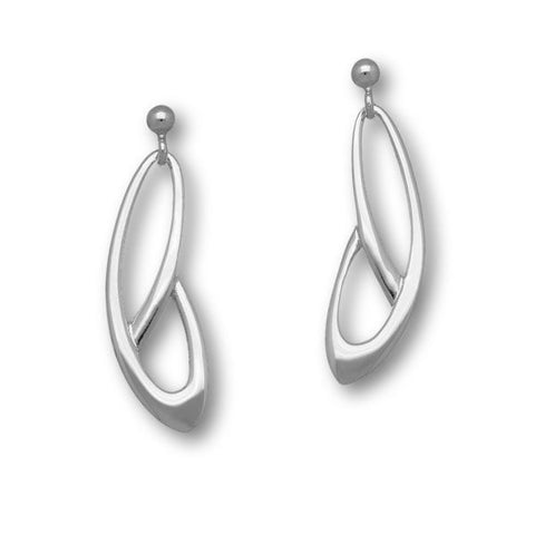 Elle Silver Earrings E1430
