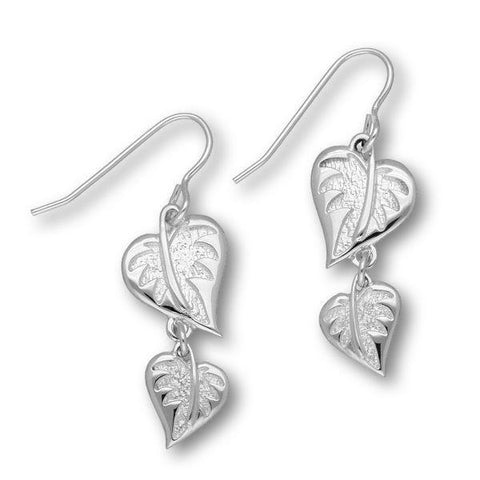 Borneo Silver Earrings E1760