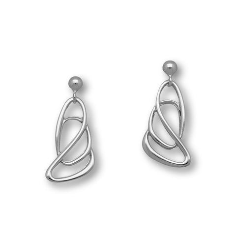 Elle Silver Earrings E1432
