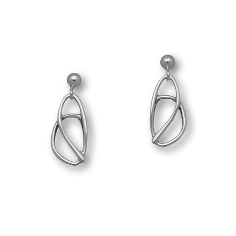 Elle Silver Earrings E1433