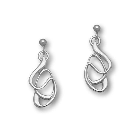 Elle Silver Earrings E1434