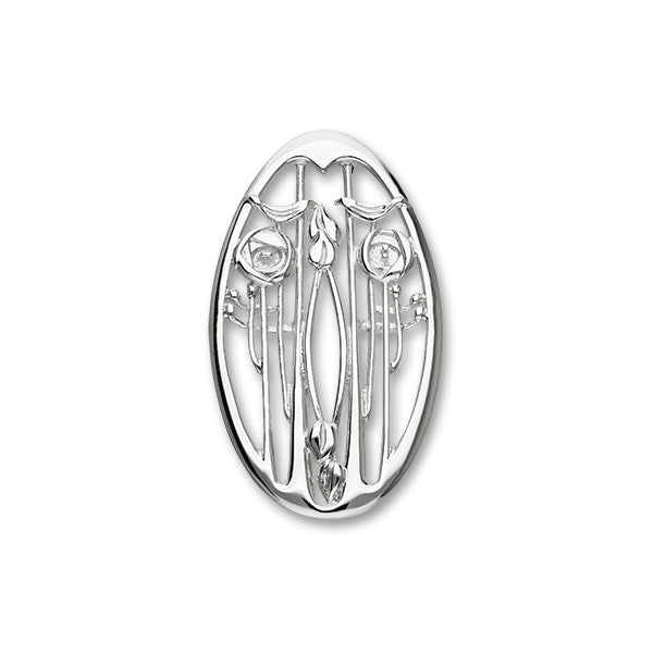 Charles Rennie Mackintosh Silver Brooch B343