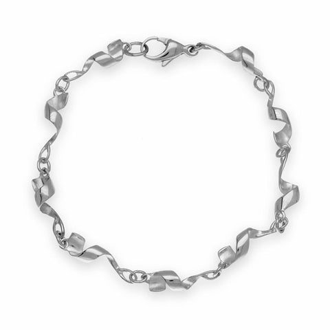 Twist & Shout Silver Bracelet BL485