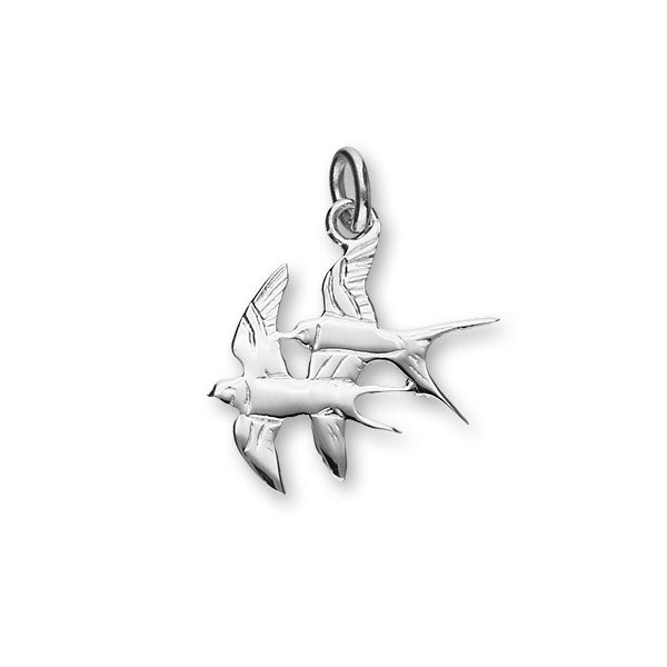 Nature In Flight Silver Charm C139