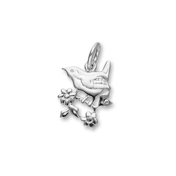 Nature In Flight Silver Charm C144