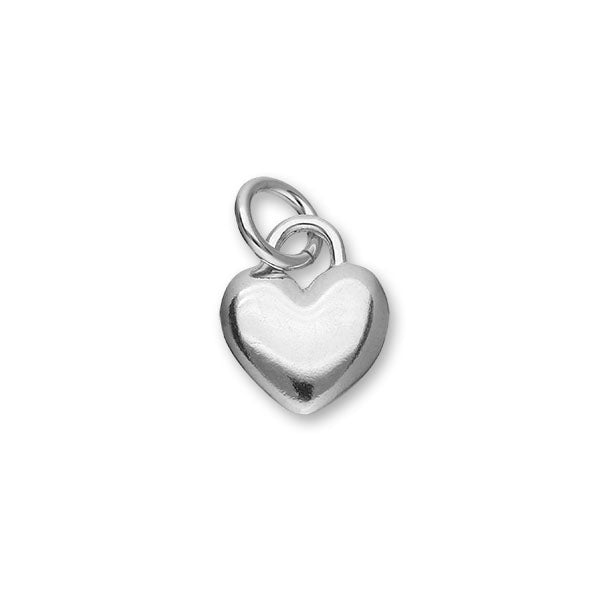 Hearts Silver Charm C193