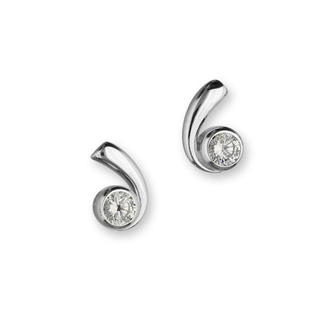 Retreat Silver Earrings CE414