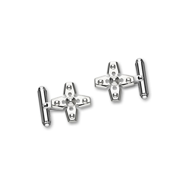 Celtic Silver Cufflinks CL129