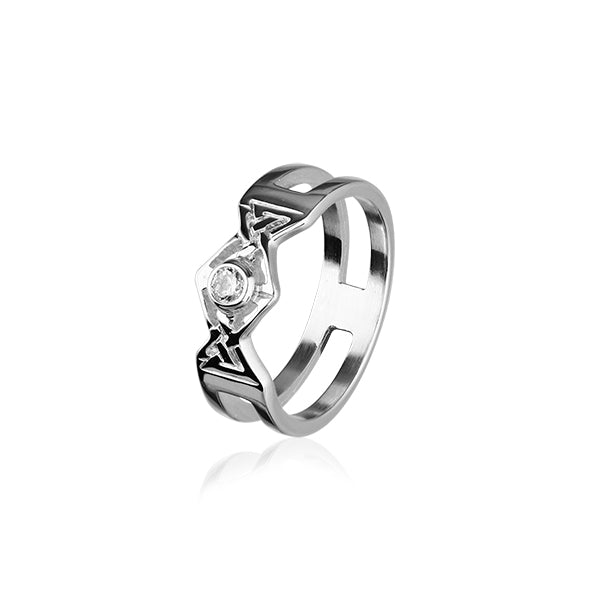 Cupid Silver Ring CR155